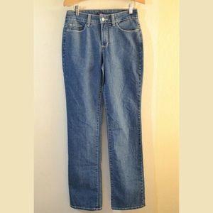 NYDJ Lift Tuck Straight Leg Jeans Size 2 x 32